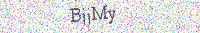 Dir plaatje bevat gecodeerde text, een kombinatie van kleuren, lettertypen, achtergrond en hoeken om geautomatiseerd lezen hiervan te bemoeilijken.